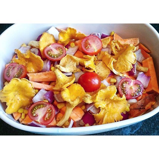 Perfekt middagstilbehør klart for krydderkvaster og steking i ovn😋👌💚 #minsunnelivsstil