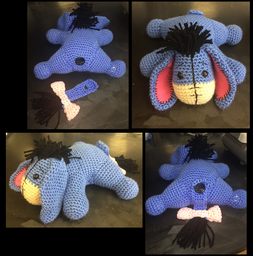 Crochet For Children: Eeyore Amigurumi Pattern | Crochet- Stuffies ...