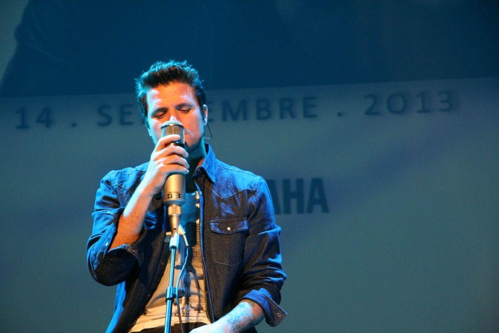 Actuación de Dani Martín en la Yamsession