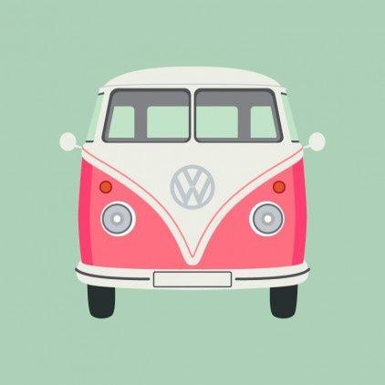 Bus retro  on We Heart It