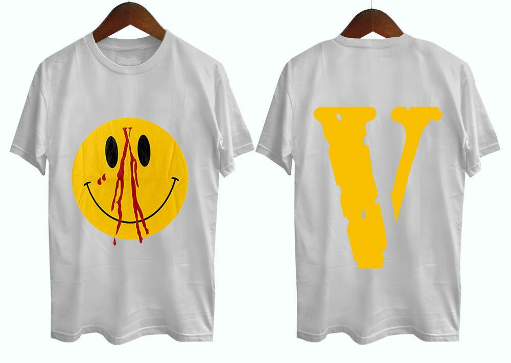 New Arrival Vlone x Playboi Tee Unisex T-Shirt Gildan Cotton USa Size S-2XL