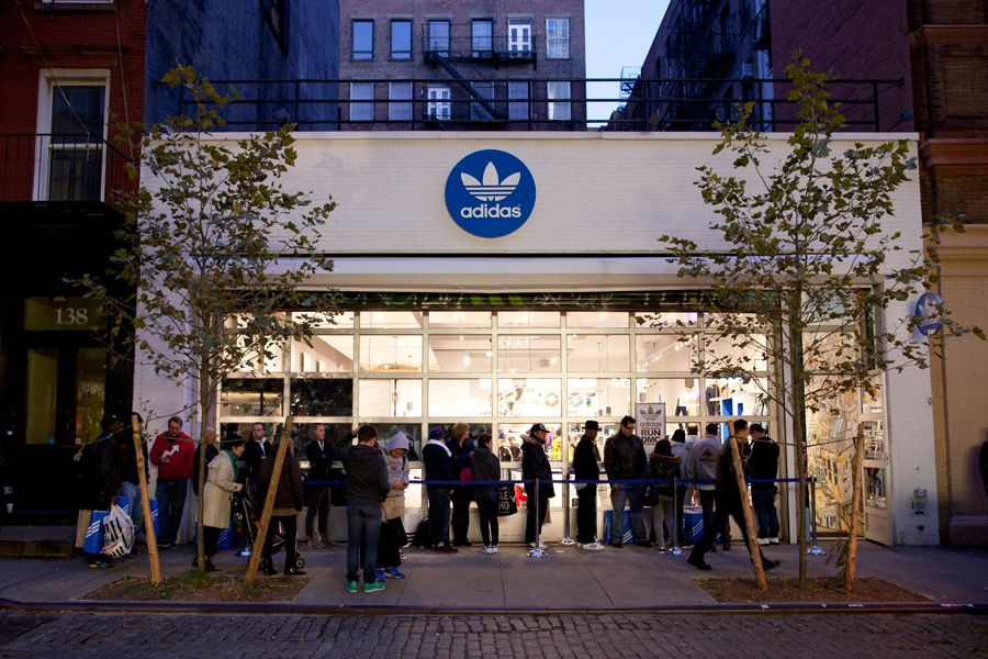 adidas store nyc sale