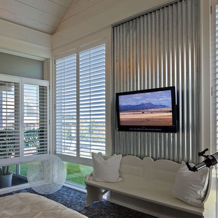 Home Dzine Corrugated Sheet Metal For Indoors Corrugated Metal Wall Corrugated Wall Interior Walls