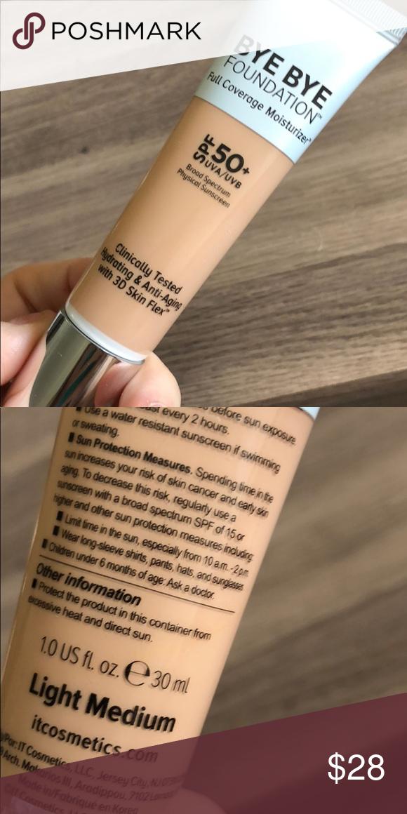 IT Cosmetics Bye Bye Foundation Bye bye foundation