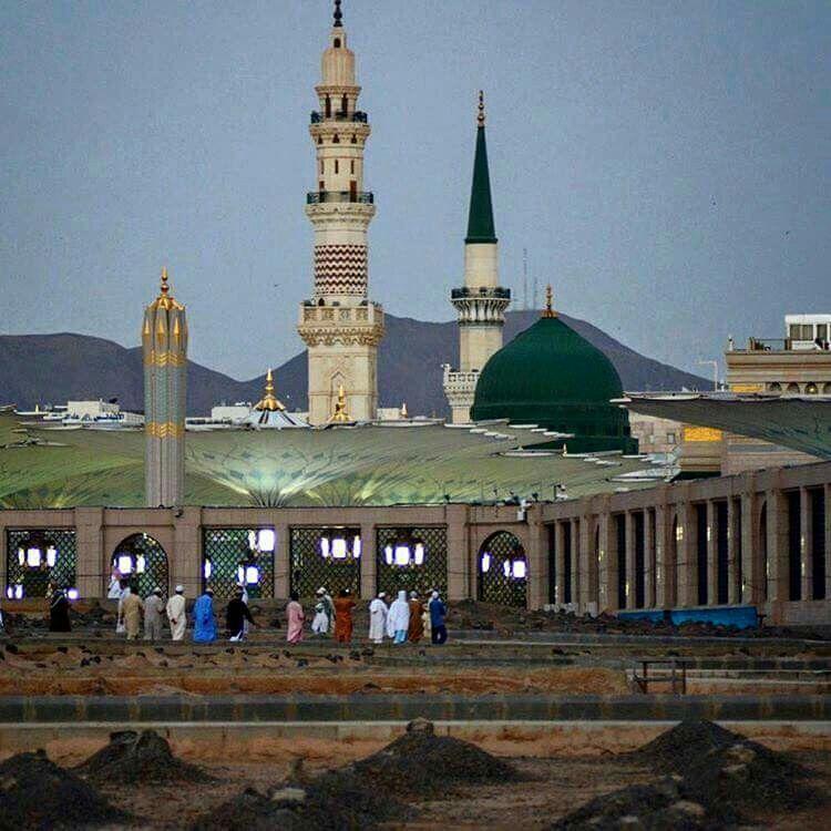 Pin By Shakeel Furqan On معالم المدينة المنورة Beautiful Mosques Medina Mosque Al Masjid An Nabawi