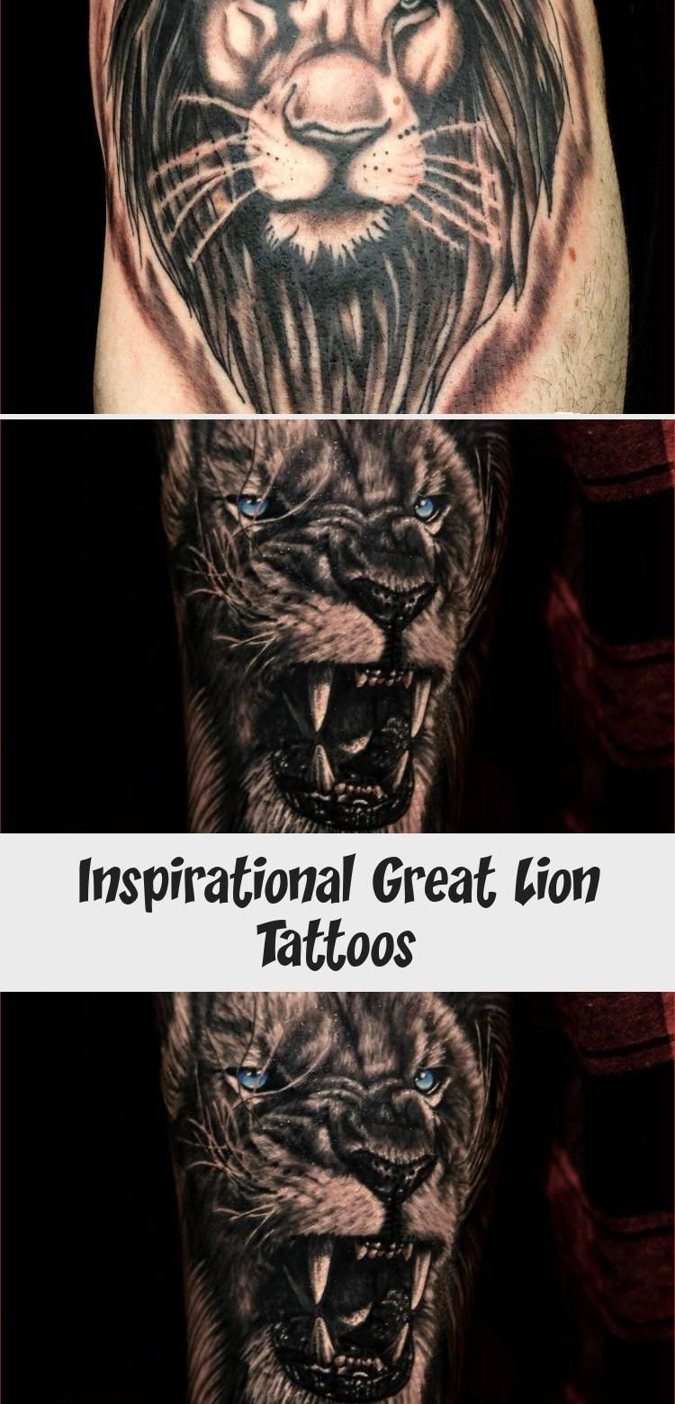 Inspirational Great Lion Tattoos – Tattoos