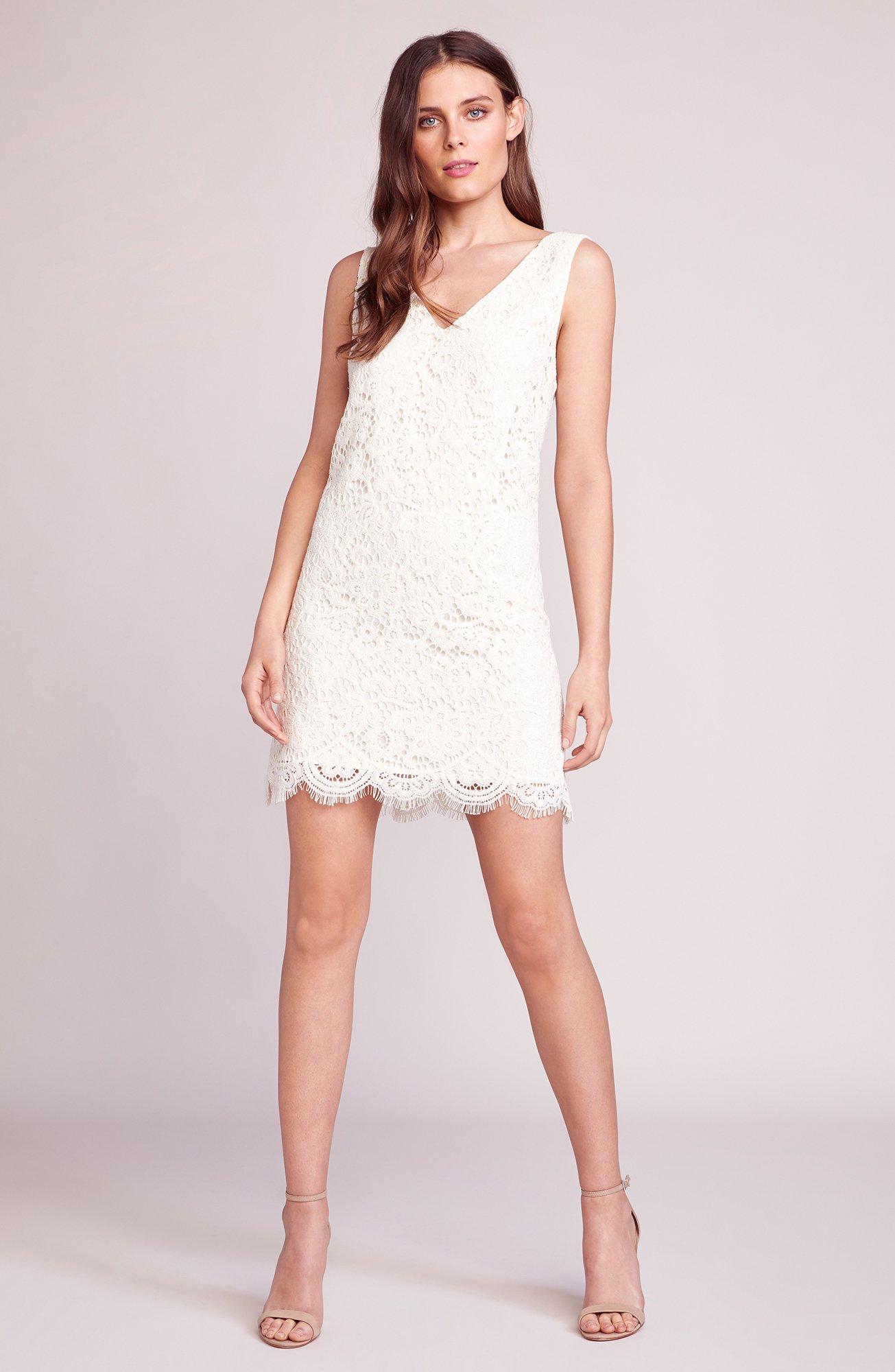 Lost In Lace Shift Dress Bb Dakota Lace Shift Dress Lace White Dress Shift Dress [ 2000 x 1305 Pixel ]