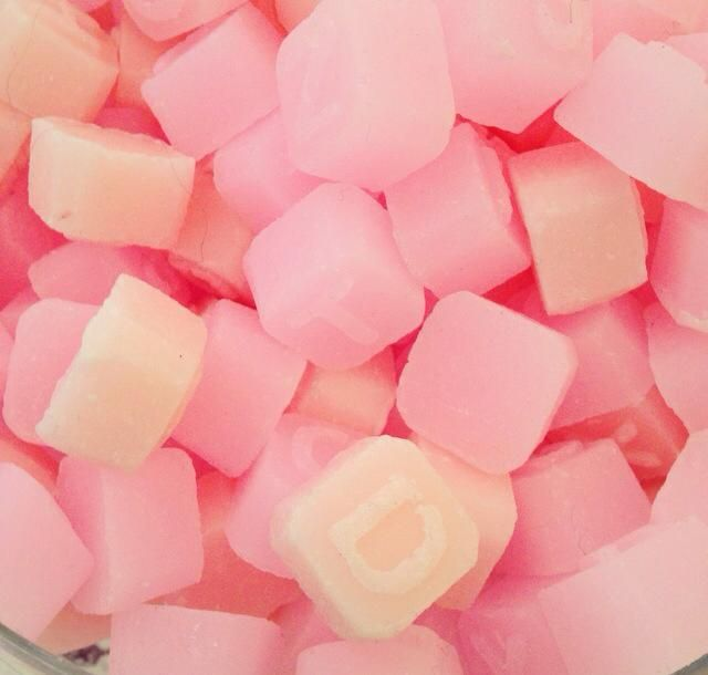 Pink Soap Letters- 30p per letter #gift #pink #soap #letters