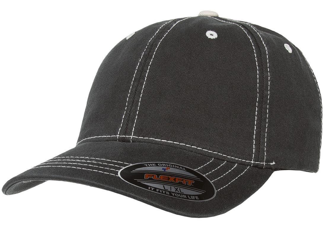 Details about 6386 flexfit contrast stitch dad hat