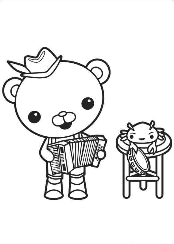 The Octonauts Coloring Pages 2 | Coloring pages for kids | Pinterest ...