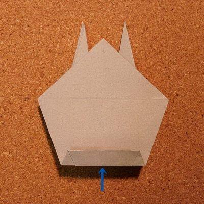トトロ 折り紙 折り 方