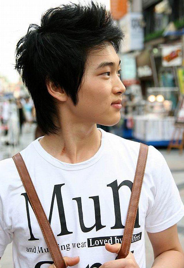 Several Korean Hairstyles For Men Short Messy Korean Hairstyles For