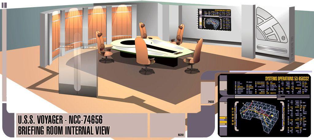 U.S.S. Voyager - Briefing Room