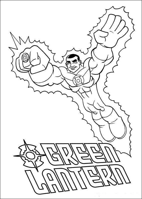 Dibujos para Colorear Super Amigos 4 | Dibujos para colorear para ...