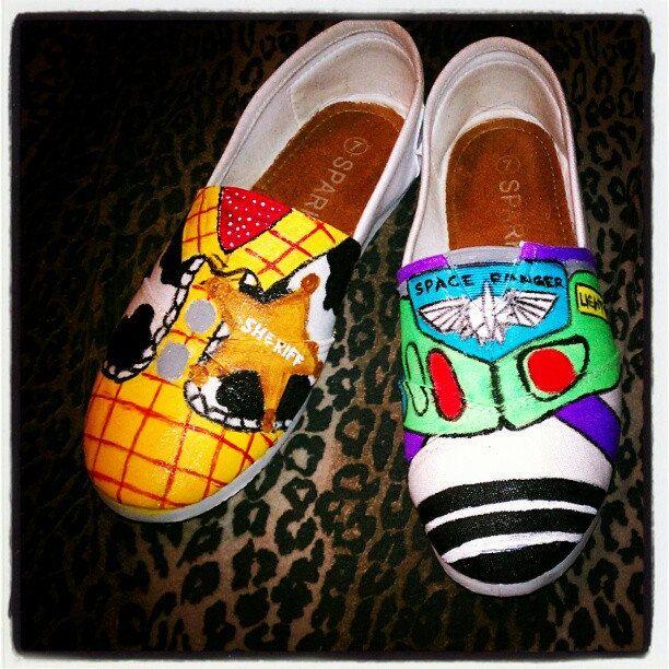 b0021677605 Disney Inspired Shoes.  80.00