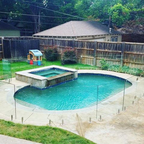 Glass Pool Fencing Prevents Children And Pets From Accessing The