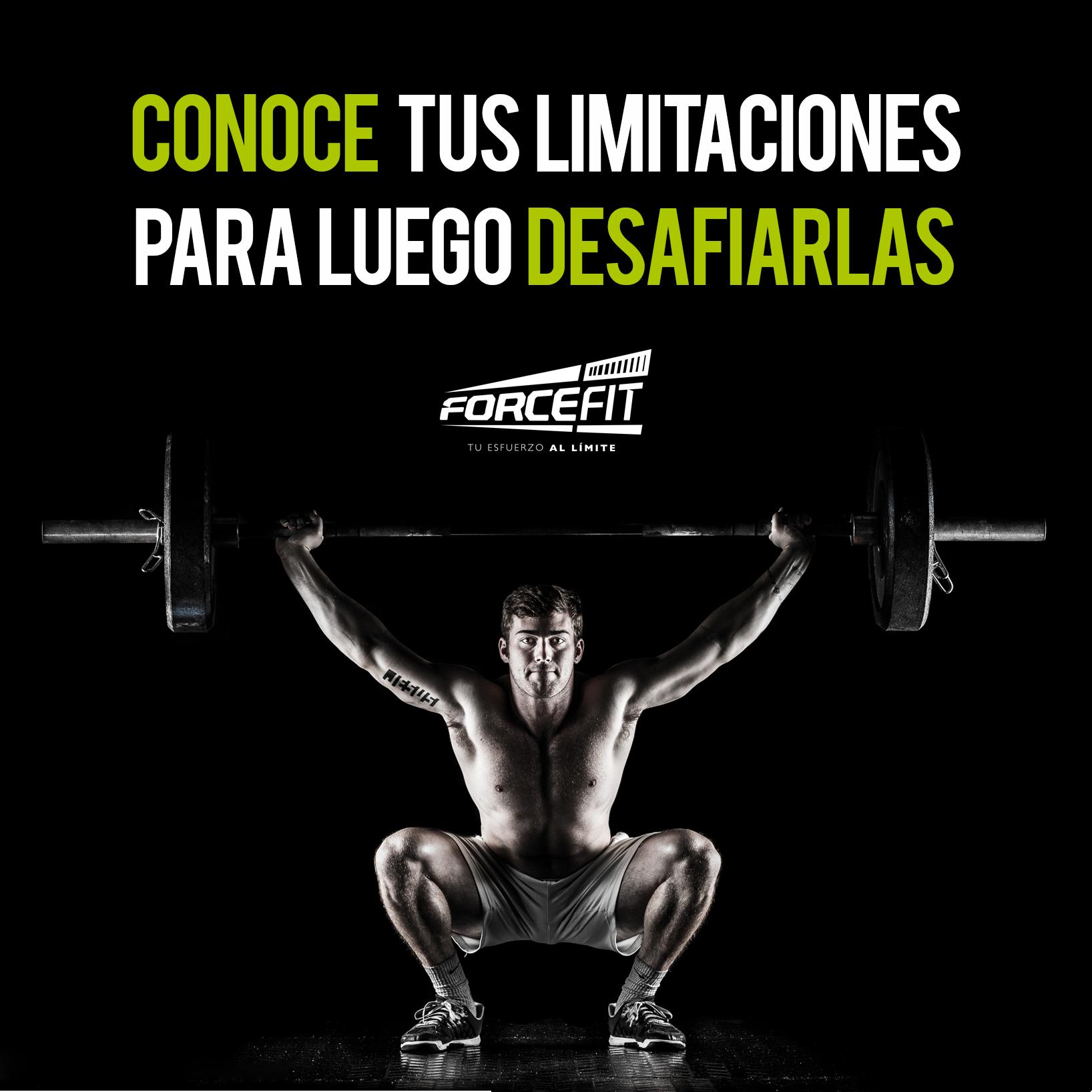 Crossfit Frases Forcefit Motivacion Conoce Tus