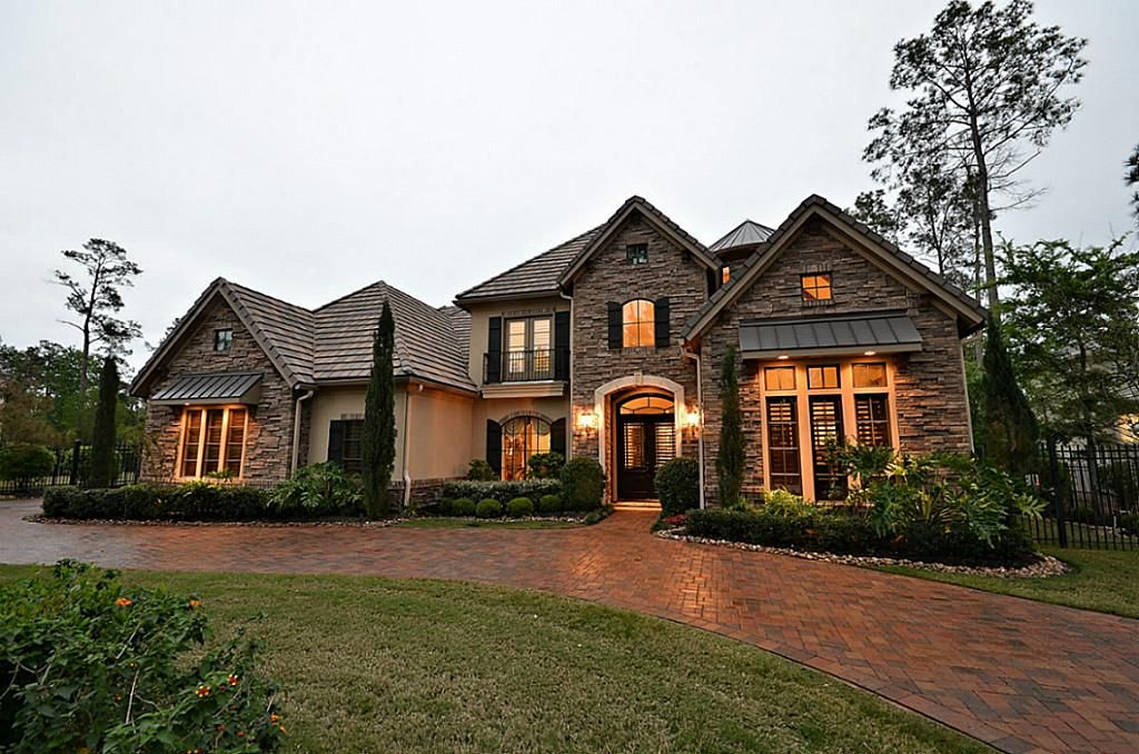 Tuscan Style One Story Homes Homes For Sale In Conroe