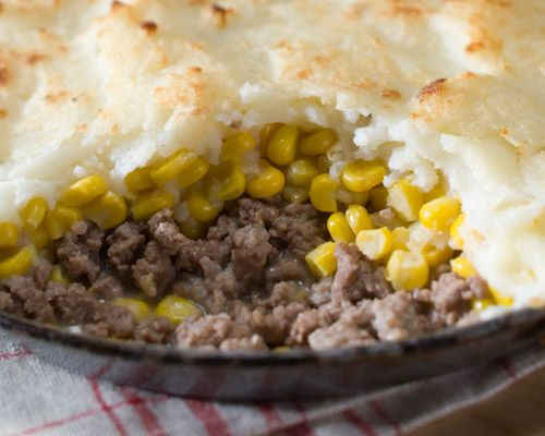 Shepherd S Pie With All Natural Ground Beef Organic Corn And Mashed Potatoes It S Gluten Free Too Comfortfood G Shepherds Pie Meals Gluten Free Meal Plan