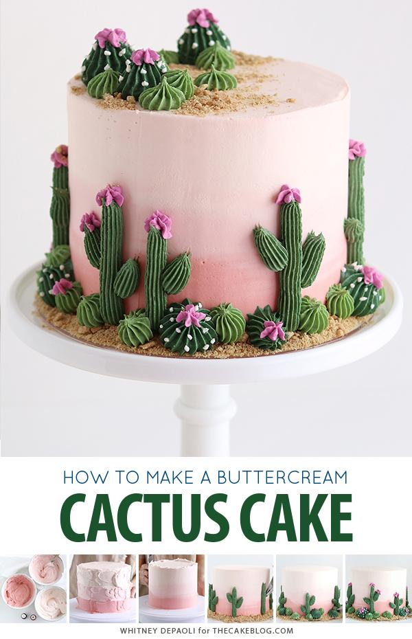 Cactus Cake | The Cake Blog