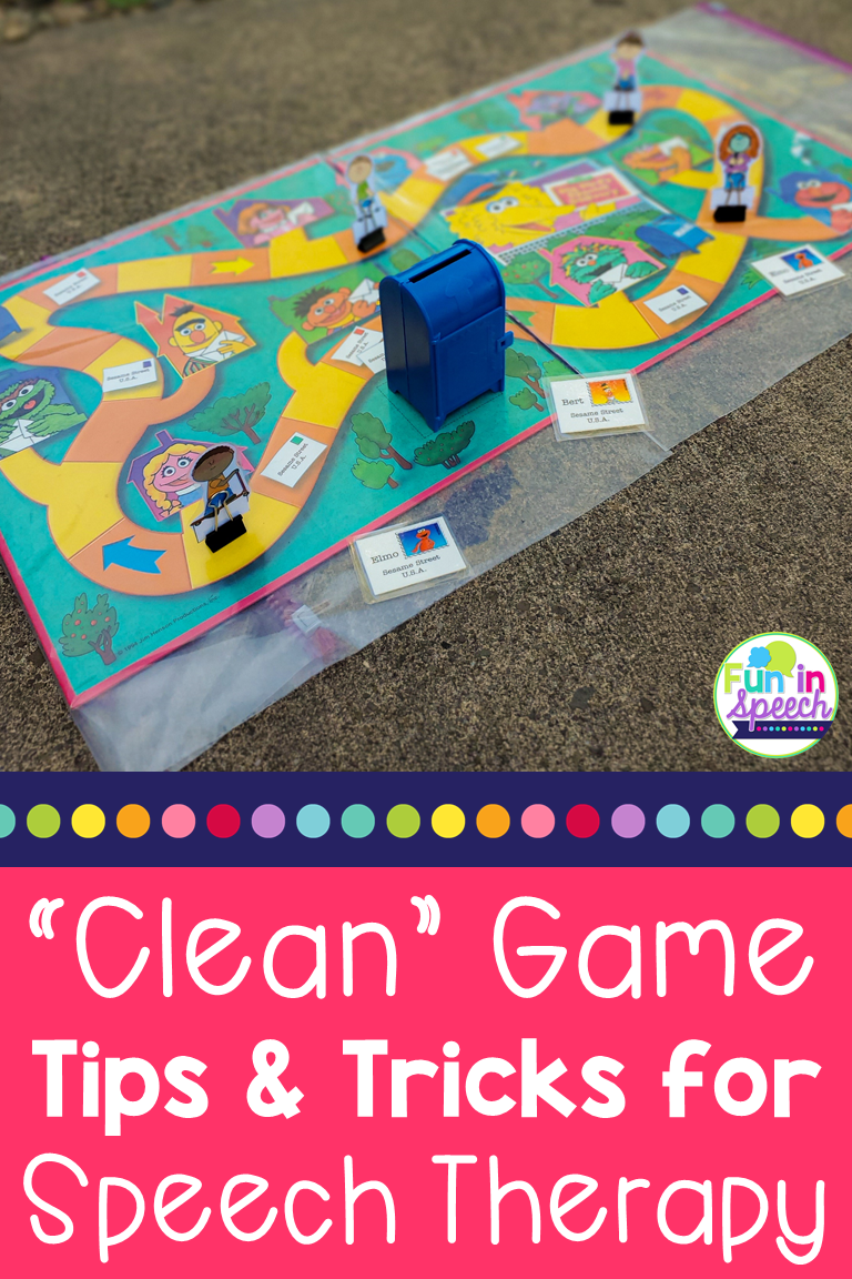 Easy to Clean Speech Therapy Games in 2020 Speech