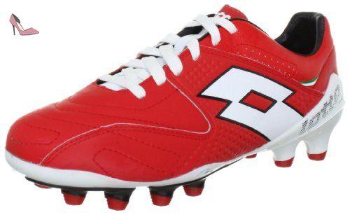 Lotto Sport FUERZAPURA III 100 FG Q2085, Chaussures de football homme - Rouge (Rot), 42.5 EU - Chaussures lotto sport (*Partner-Link)