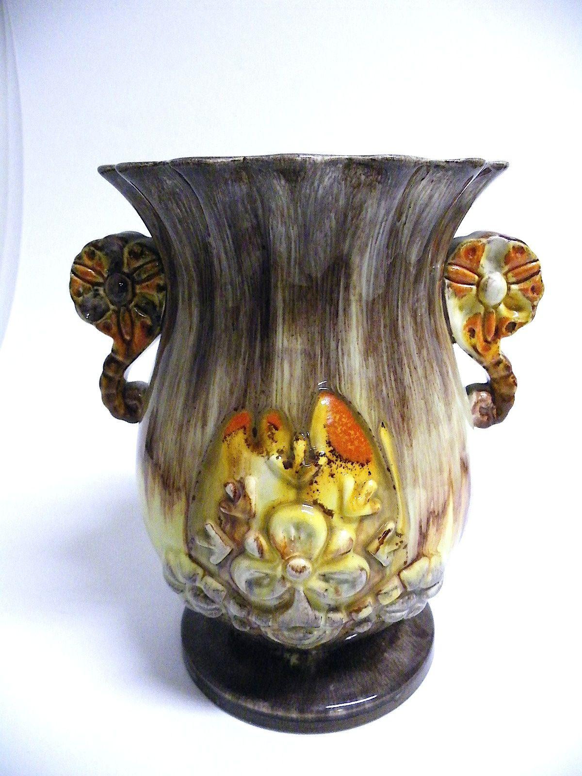 marzi remy art deco vase model 125 2 die vase ist in einem guten und unbesch digten. Black Bedroom Furniture Sets. Home Design Ideas