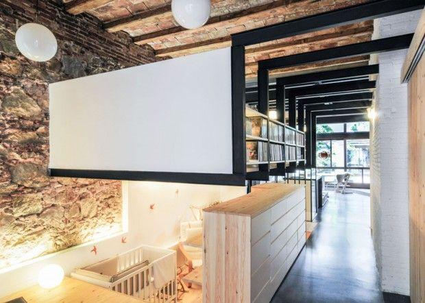 Rénovation dun appartement à barcelone par carles enrich