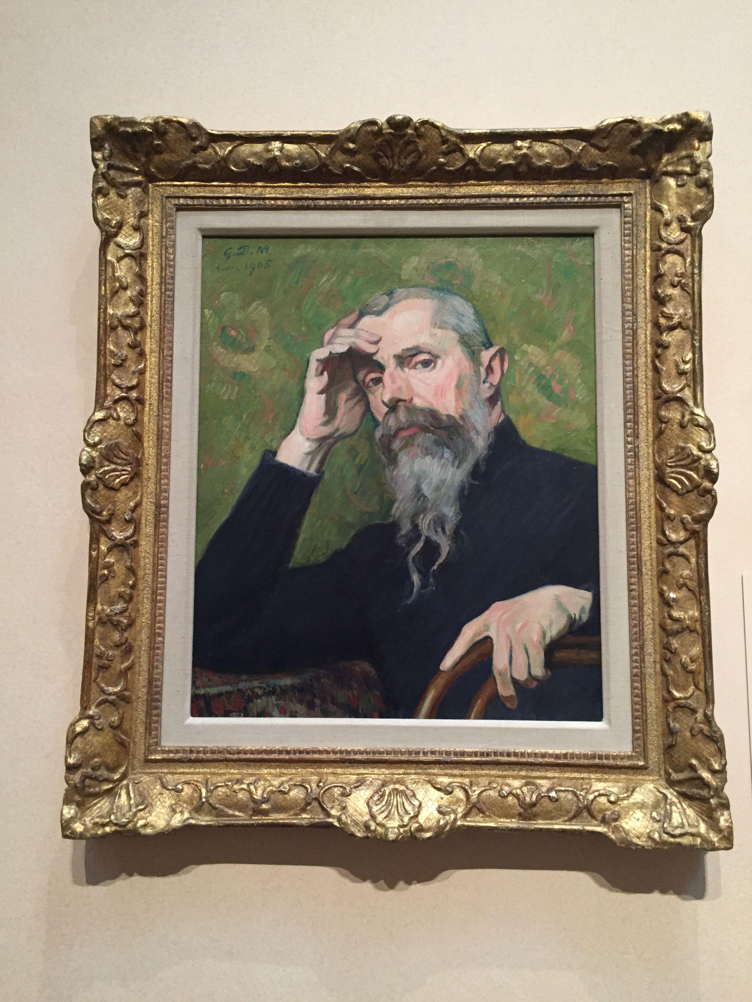 Daniel De Monfreid Self Portrait Houston Museum