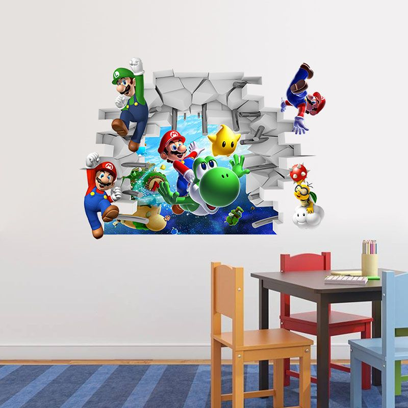 Room · Super Mario 3D Wall Stickers ... Part 91