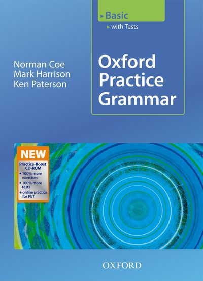 Oxford Practice Grammar Basic Ebook With Audio Download Grammar Practice Grammar English Grammar Book Pdf