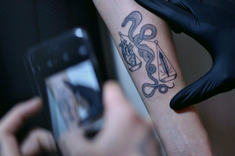 Tattoo art by Mirko Sata