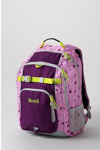 School Uniform Star Classmate 174 Large Backpack From Lands