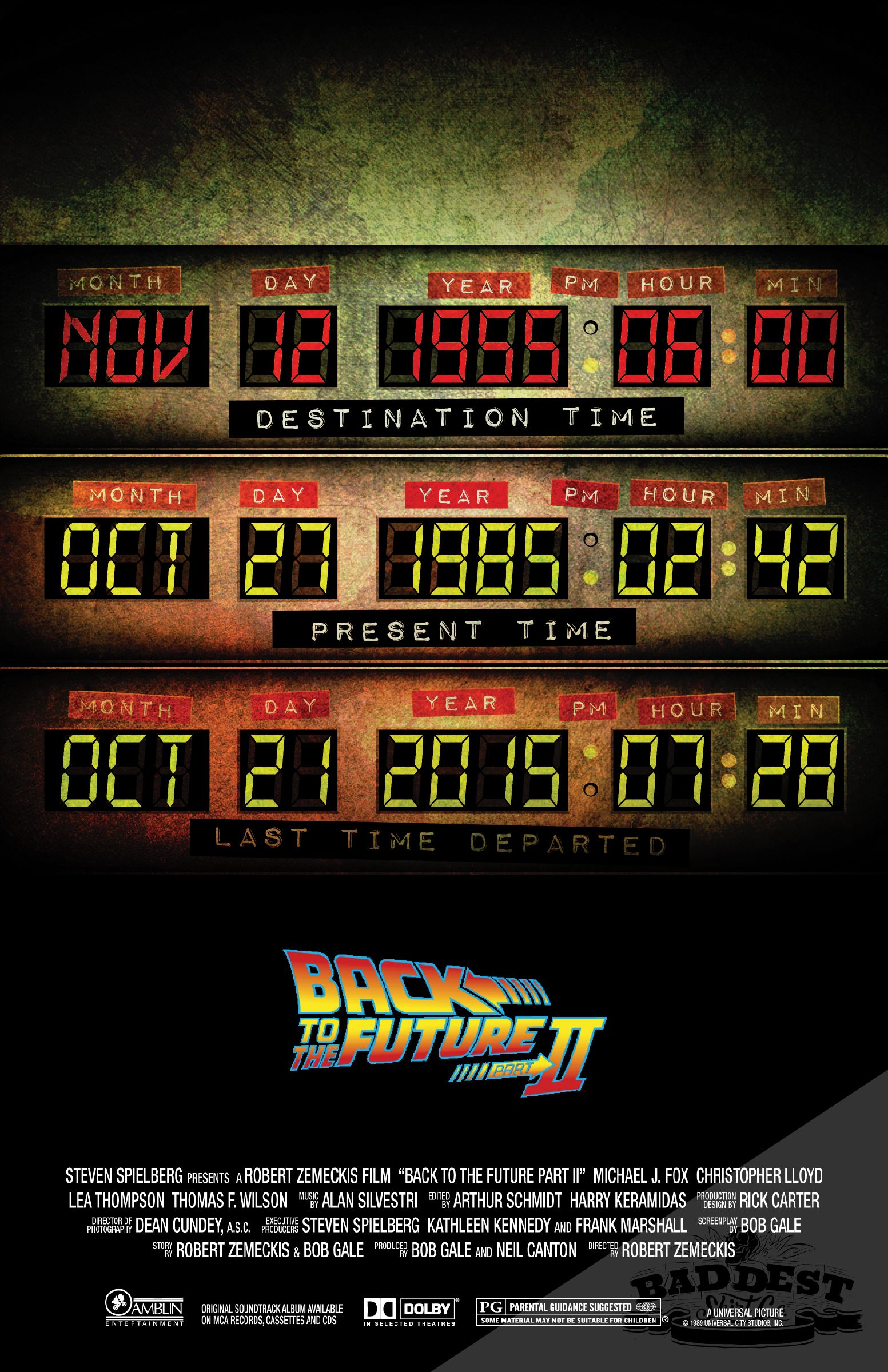 Back to the future 2 retour vers le futur