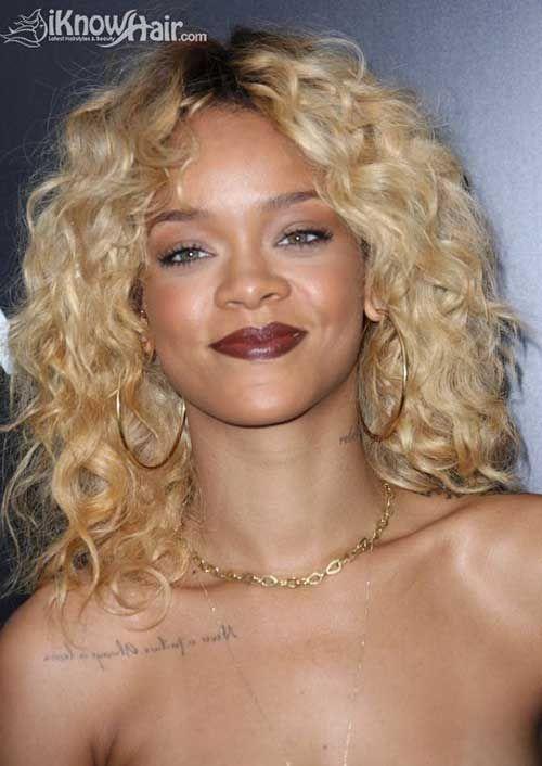 10 Best Rihanna Short Blonde Hair Http Www Short Haircut Com