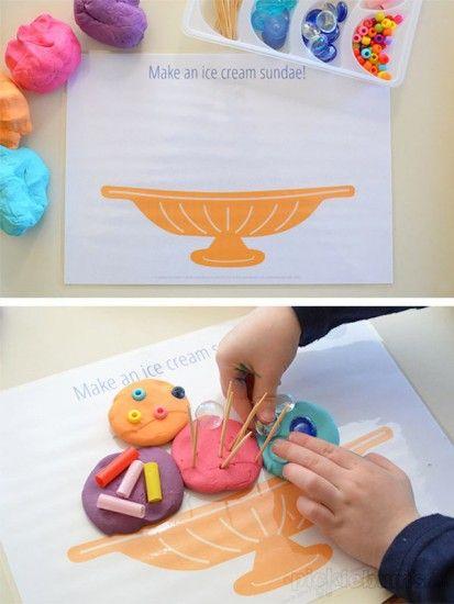 Dibujos para imprimir y jugar con plastilina | Imprimibles, Para ...