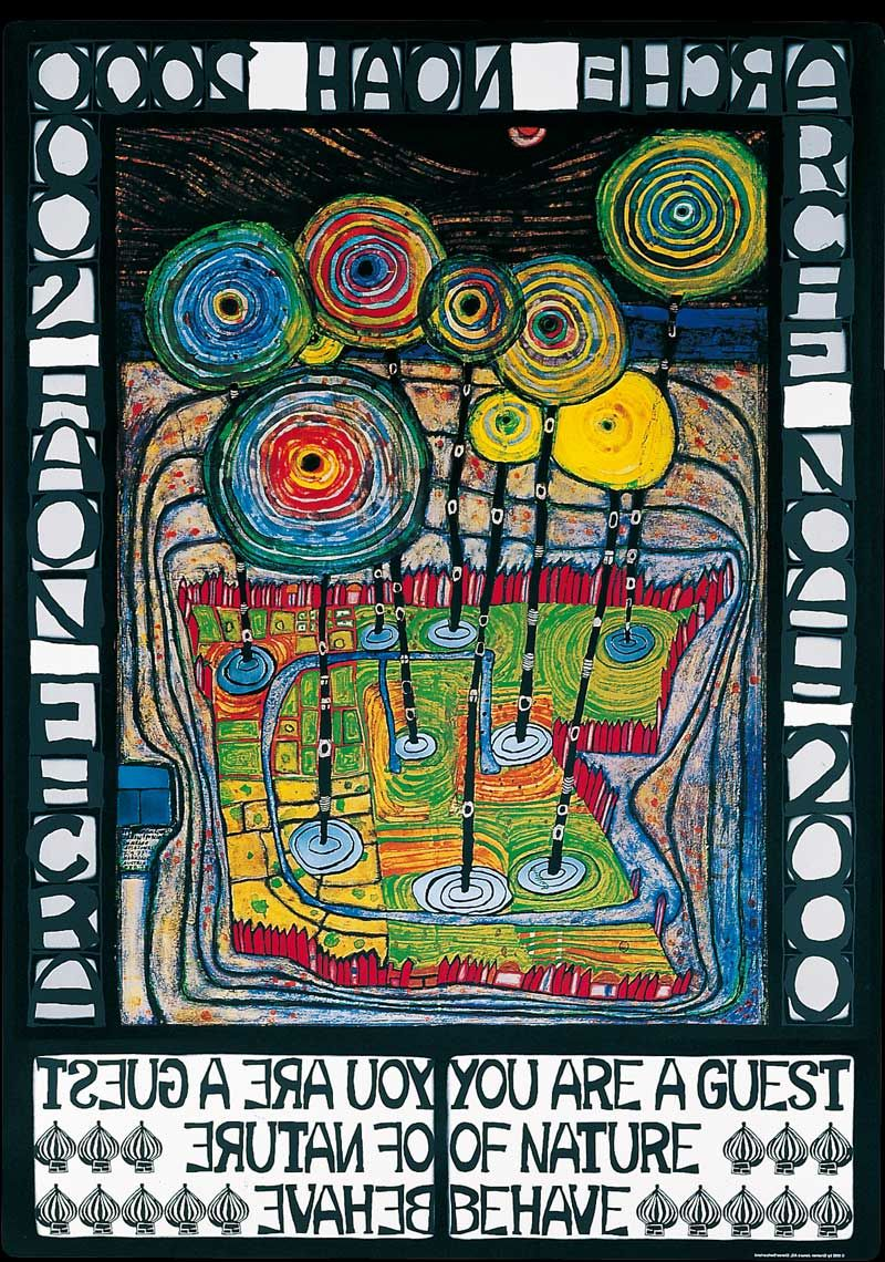 Image result for Hundertwasser you are a guest of nature