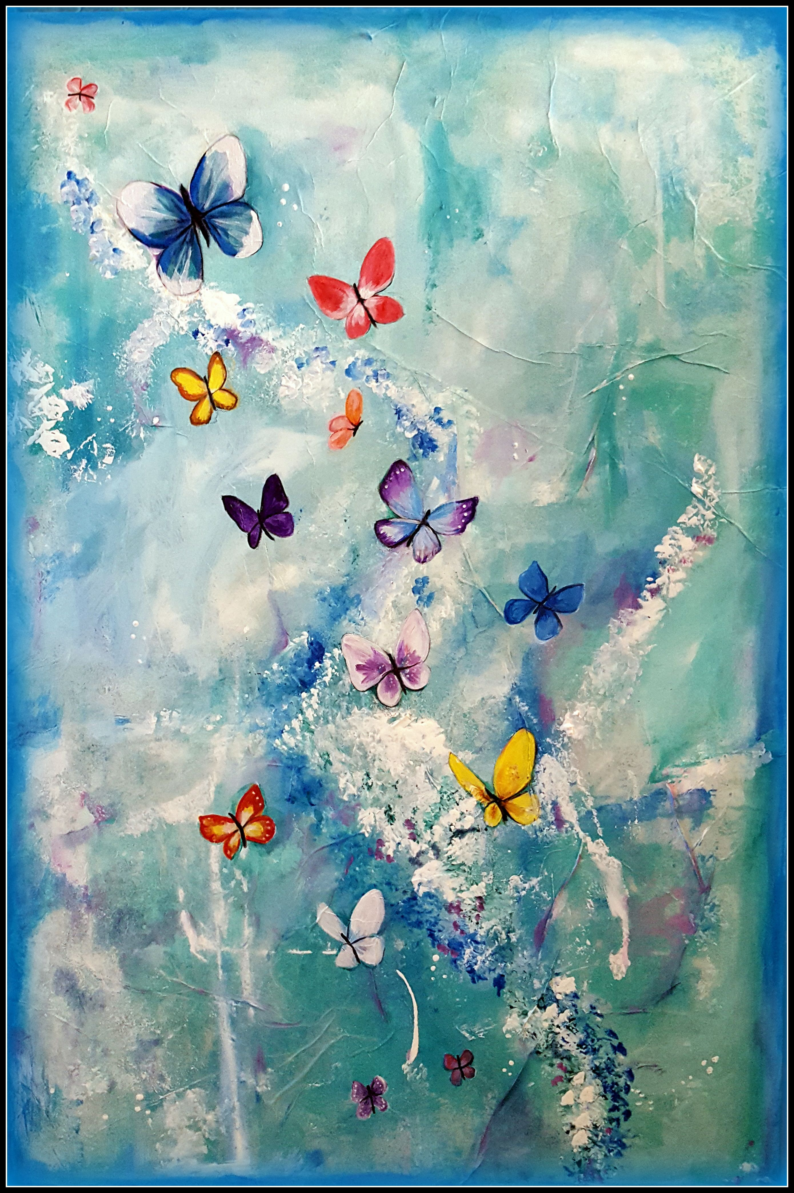 butterflies butterfly painting for madd representing all