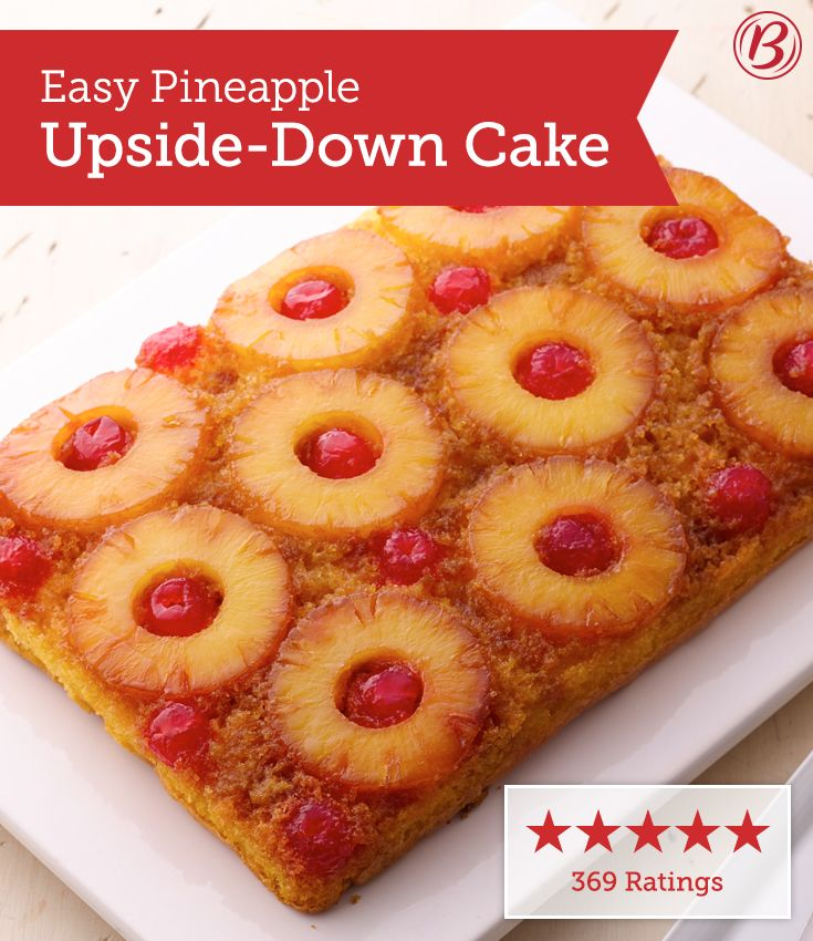 Best Moist Pineapple Cake: Easy Pineapple Upside-Down Cake