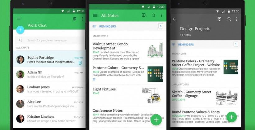 Evernote update: sleeker Material Design, enhanced collaborative design - Android Community