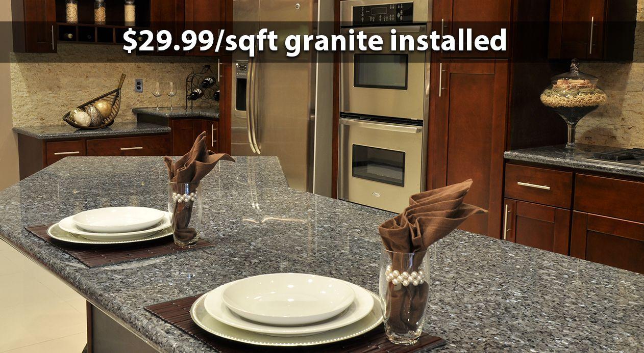 Cabinets And Granite Direct Cleveland Ohio 44135 Granite Counter Tops Countertops Popular Kitchens Kitchen Cabinets And Countertops