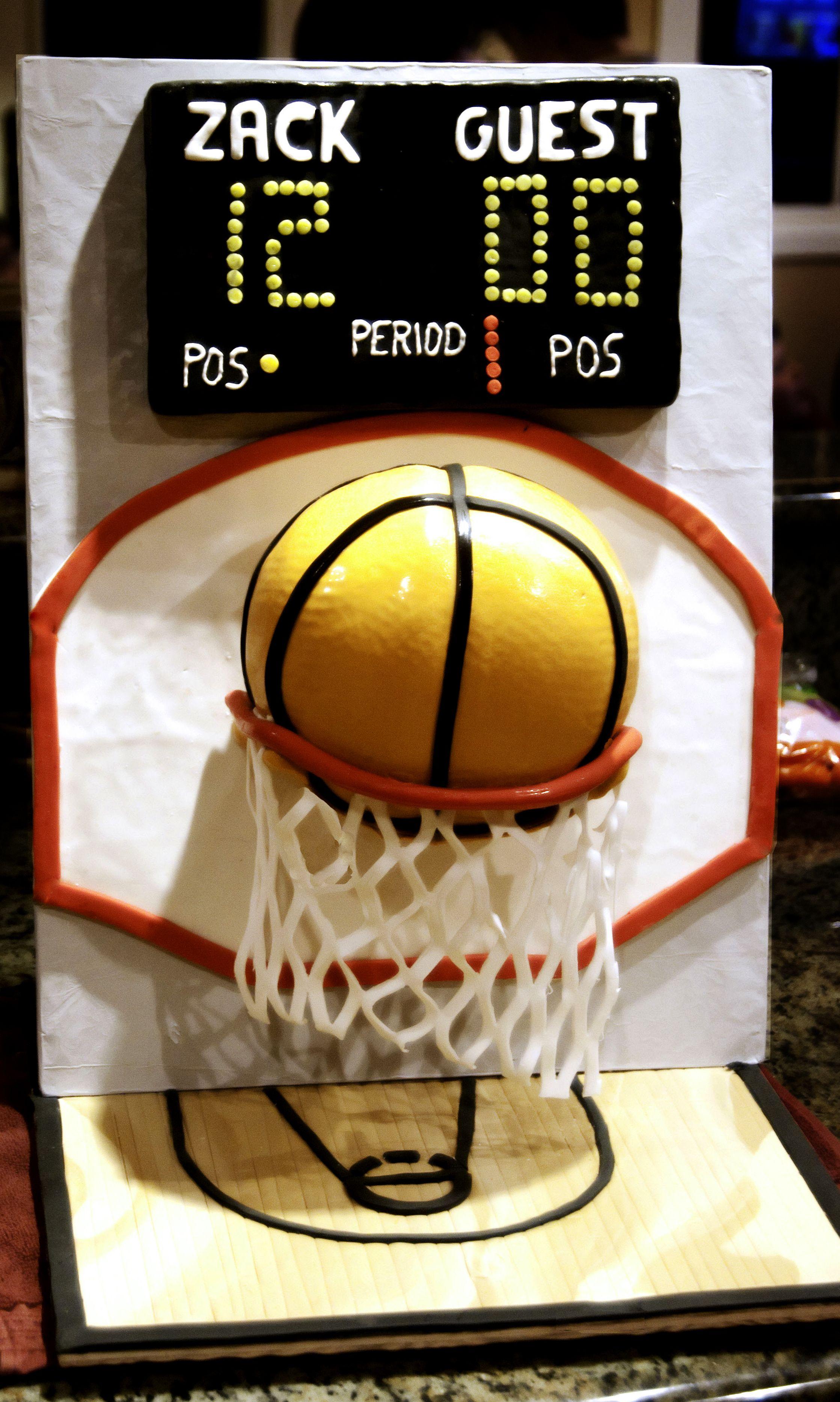 Basketball Cake Basketball Cake Fun Cake Decorating Ideas