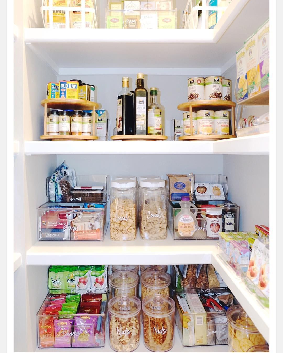 """Interior Design Inspiration on Instagram: """"It's all about organization in this pantry! Via @the_home_edit """""""