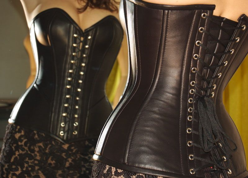 Leather Corset, Womens luxury ready-to-wear clothing, LA ...