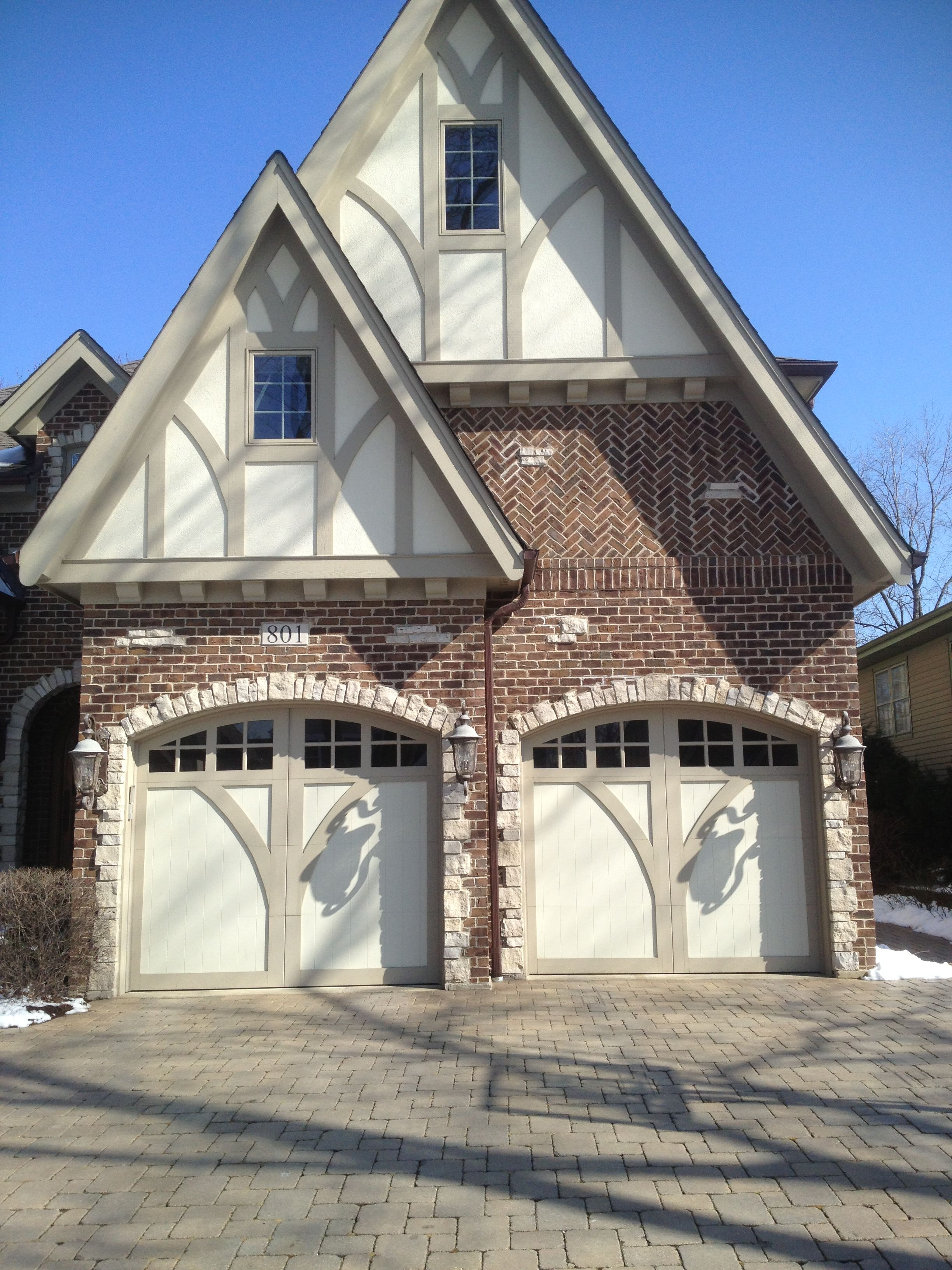 Custom wood carriage house garage doors www for Carriage house garages