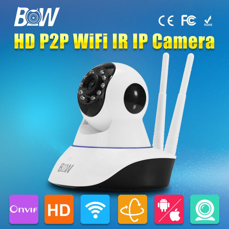 (Buy here: http://appdeal.ru/5s1 ) CCTV HD WiFi Security Camera 720P 3.6mm Endoscope Baby Monitor Automatic Alarm Security System Surveillance Camera Wireless IP for just US $49.00