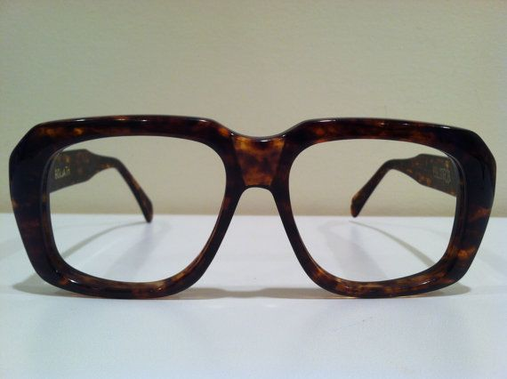 ae504486a8b8 Vintage Ultra Goliath Brown Tortes Shell by 80sFrames on Etsy