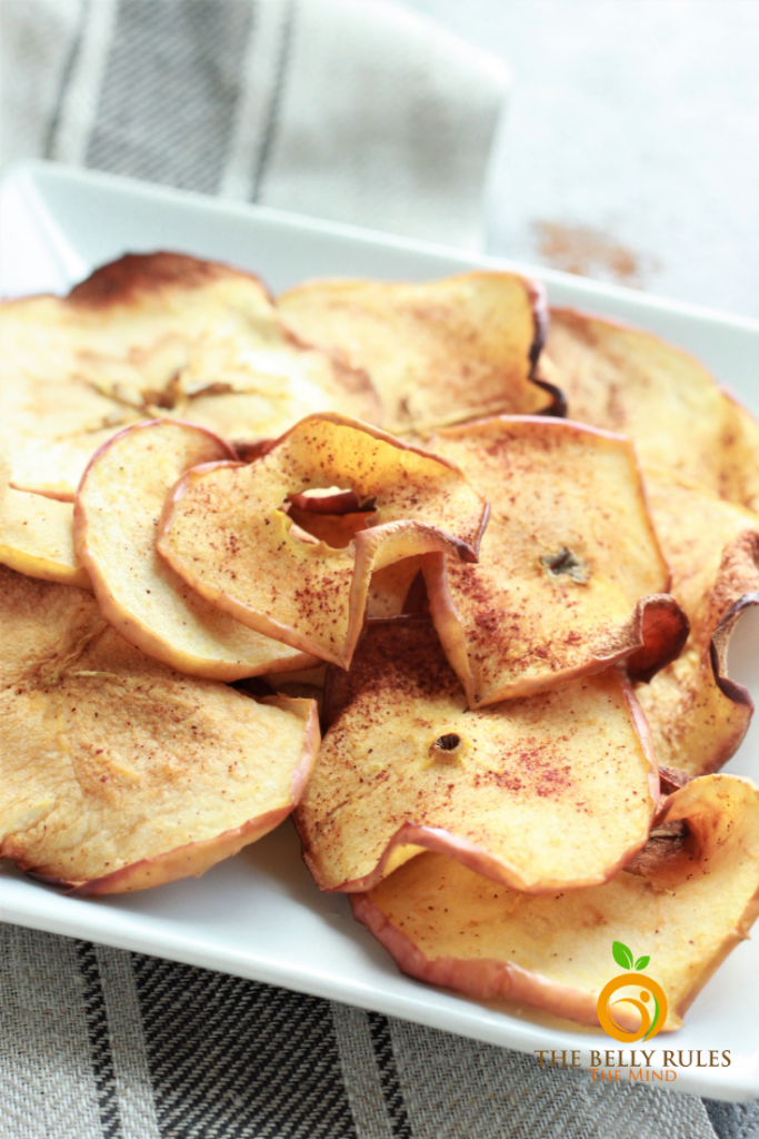 Air Fryer Apple Chips Recipe in 2020 Air fryer recipes