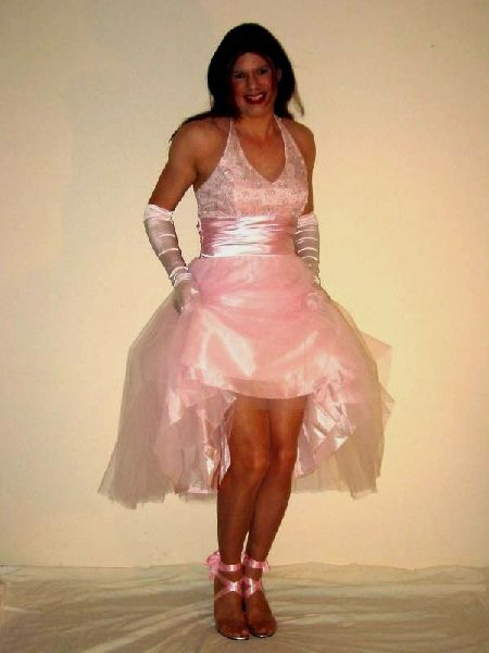 Transvestite in Corset Prom Dresses