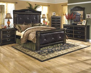 Ashley Furniture Signature Design Bedroom Set Series Name Coal Creek  Item Name Three Drawer Night Stand